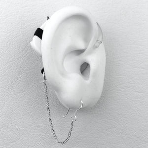 Figaro Safety Chain - Hearing Aid Jewelry