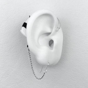 Armor chain - Hearing Aid Jewelry