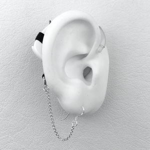 Safety Chain With Hook - Hearing Aid Jewelry