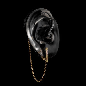 Sienna - Gold - Hearing Aid Jewelry