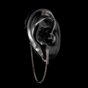 Sienna - Silver - Hearing Aid Jewelry