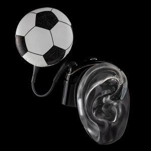 Soccer - Cochlear Implant Jewelry
